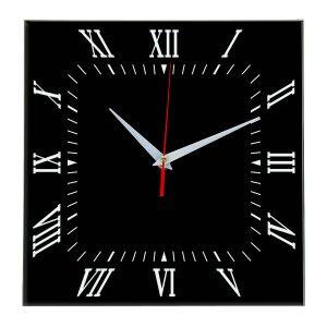 Настенные часы Ideal 834 черные