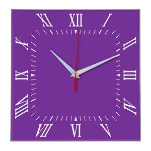 Настенные часы Ideal 834 фиолетовые