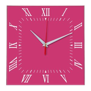 Настенные часы Ideal 834 розовые