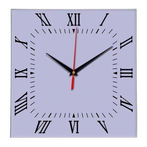 Настенные часы Ideal 834 сиреневый светлый
