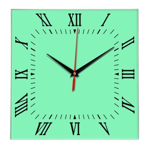 Настенные часы Ideal 834 светлый зеленый