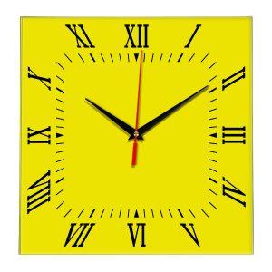 Настенные часы Ideal 834 желтые