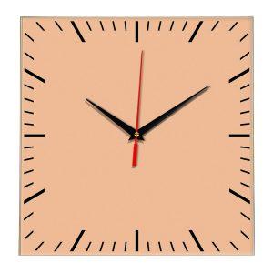 Настенные часы Ideal 835 оранжевый светлый