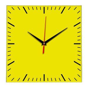 Настенные часы Ideal 835 желтые