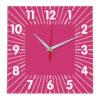 Настенные часы Ideal 836 розовые
