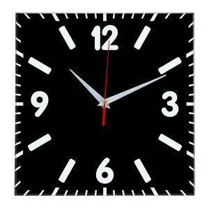 Настенные часы Ideal 837 черные