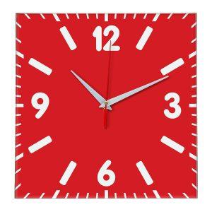 Настенные часы Ideal 837 красный