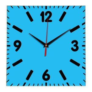 Настенные часы Ideal 837 синий светлый