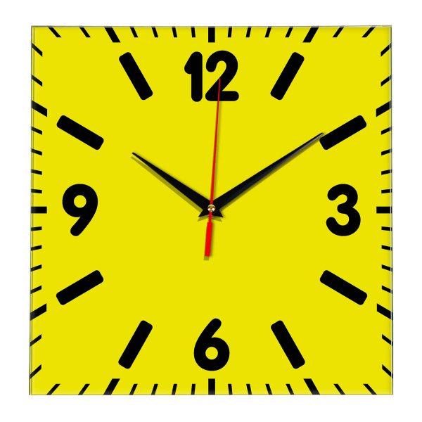 Настенные часы Ideal 837 желтые