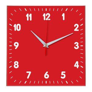Настенные часы Ideal 838 красный