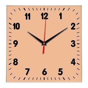 Настенные часы Ideal 838 оранжевый светлый