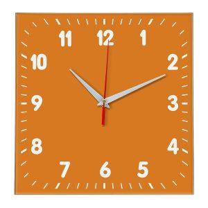 Настенные часы Ideal 838 оранжевый
