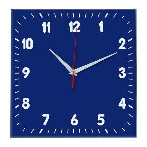 Настенные часы Ideal 838 синий темный