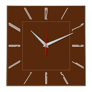 Настенные часы Ideal 839 коричневый