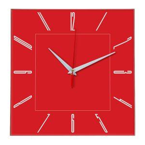 Настенные часы Ideal 839 красный