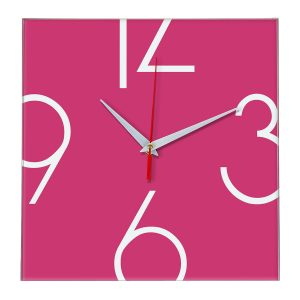 Настенные часы Ideal 840 розовые