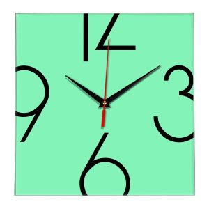 Настенные часы Ideal 840 светлый зеленый