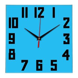 Настенные часы Ideal 841 синий светлый