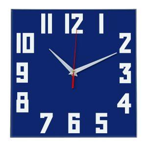 Настенные часы Ideal 841 синий темный