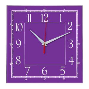 Настенные часы Ideal 842 фиолетовые