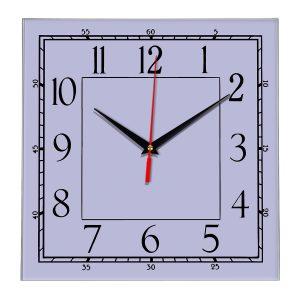 Настенные часы Ideal 842 сиреневый светлый