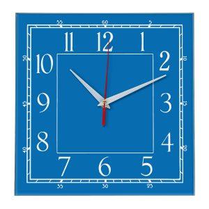 Настенные часы Ideal 842 синий