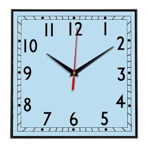 Настенные часы Ideal 843 светло-голубой