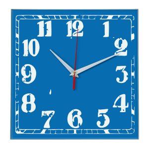 Настенные часы Ideal 844 синий