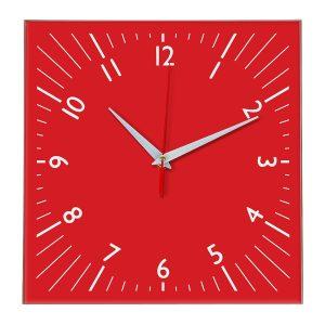 Настенные часы Ideal 845 красный
