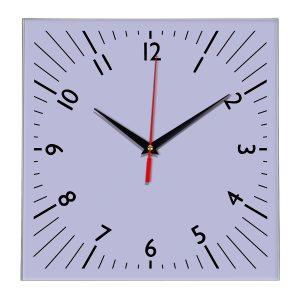 Настенные часы Ideal 845 сиреневый светлый