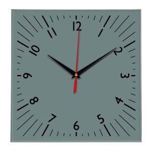 Настенные часы Ideal 845 серо синий