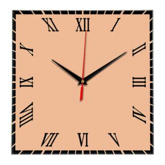 Настенные часы Ideal 846 оранжевый светлый