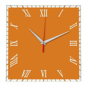 Настенные часы Ideal 846 оранжевый