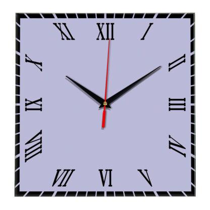 Настенные часы Ideal 846 сиреневый светлый