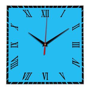 Настенные часы Ideal 846 синий светлый