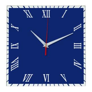 Настенные часы Ideal 846 синий темный