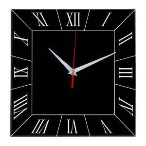 Настенные часы Ideal 847 черные
