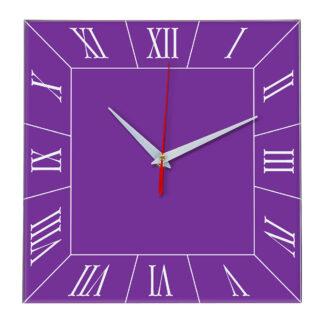 Настенные часы Ideal 847 фиолетовые