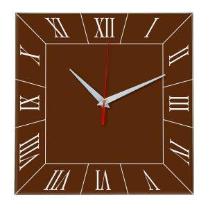Настенные часы Ideal 847 коричневый