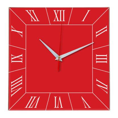 Настенные часы Ideal 847 красный