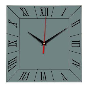 Настенные часы Ideal 847 серо синий