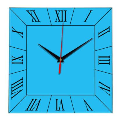 Настенные часы Ideal 847 синий светлый