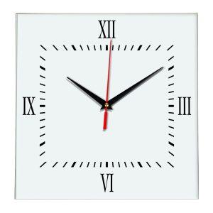 Настенные часы Ideal 848 белые