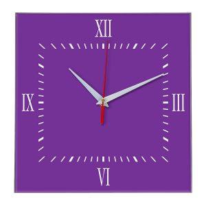 Настенные часы Ideal 848 фиолетовые