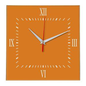 Настенные часы Ideal 848 оранжевый