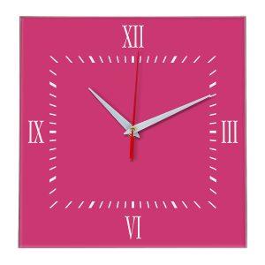 Настенные часы Ideal 848 розовые