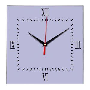 Настенные часы Ideal 848 сиреневый светлый