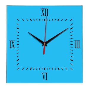 Настенные часы Ideal 848 синий светлый