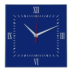 Настенные часы Ideal 848 синий темный
