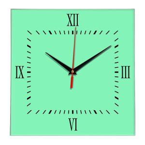 Настенные часы Ideal 848 светлый зеленый